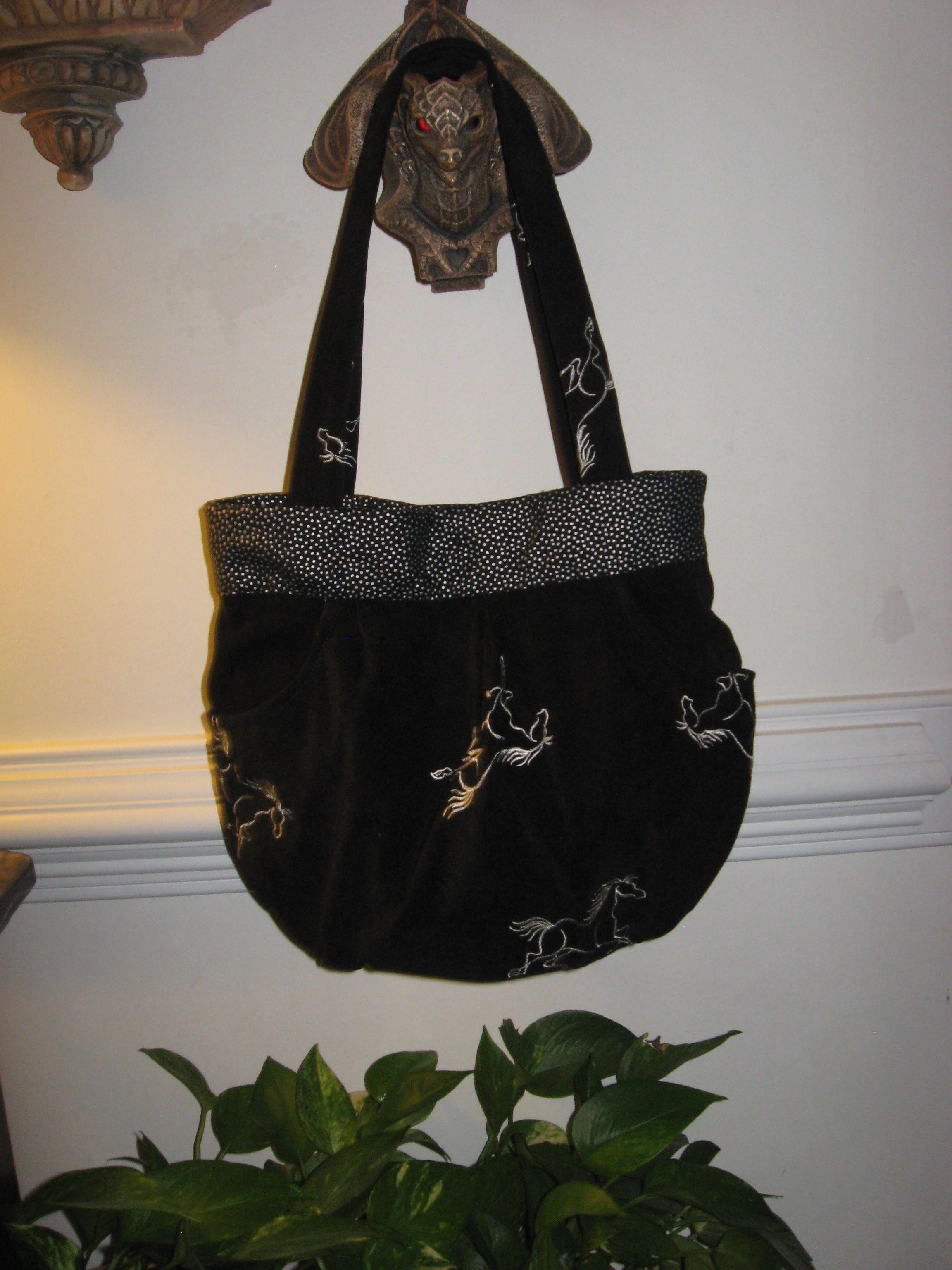 Evette's horsie purse
