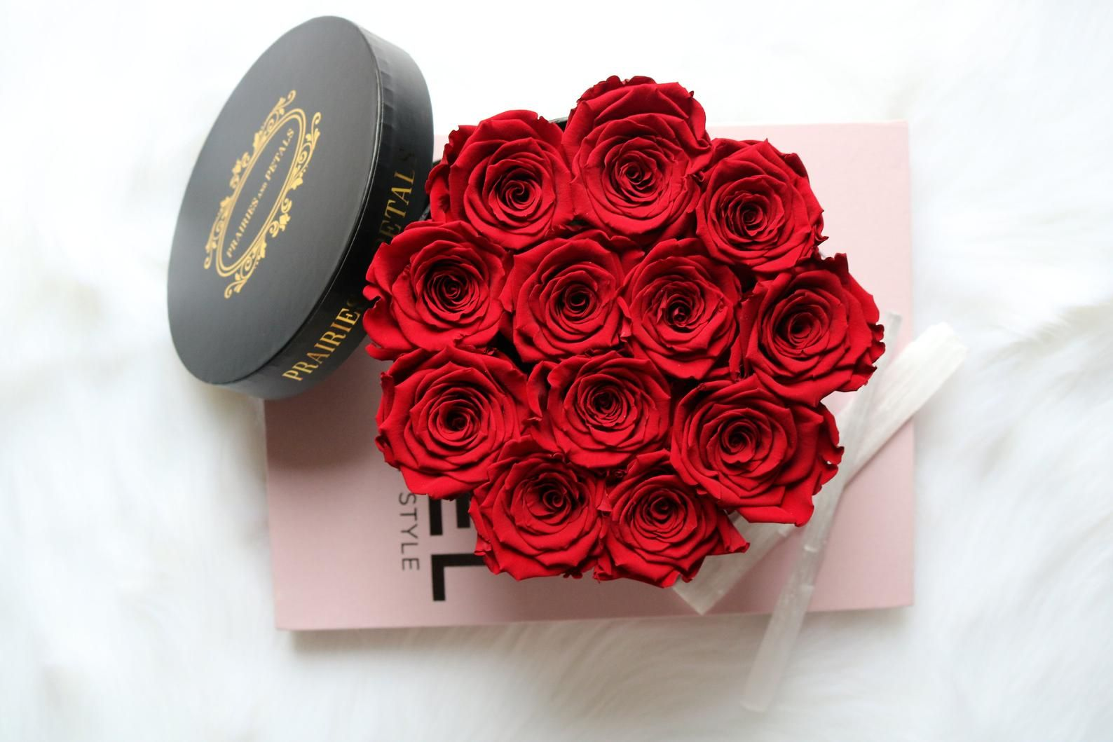 One Year Roses Gifts For Her Box Of Roses Mother S Day Forever Roses Everlasting Rose Flower Box Mirror Eternity Rose Rose Gift Gifts For Her Forever Rose