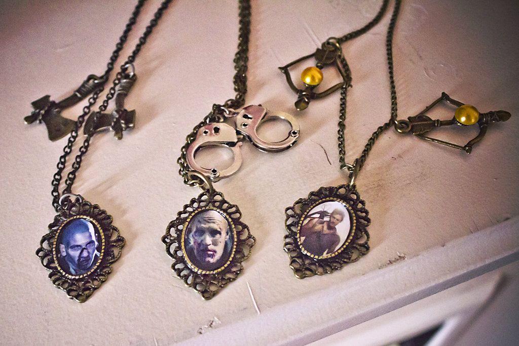 Walking Dead Series Cameo necklaces by falt-photo.deviantart.com on @DeviantArt