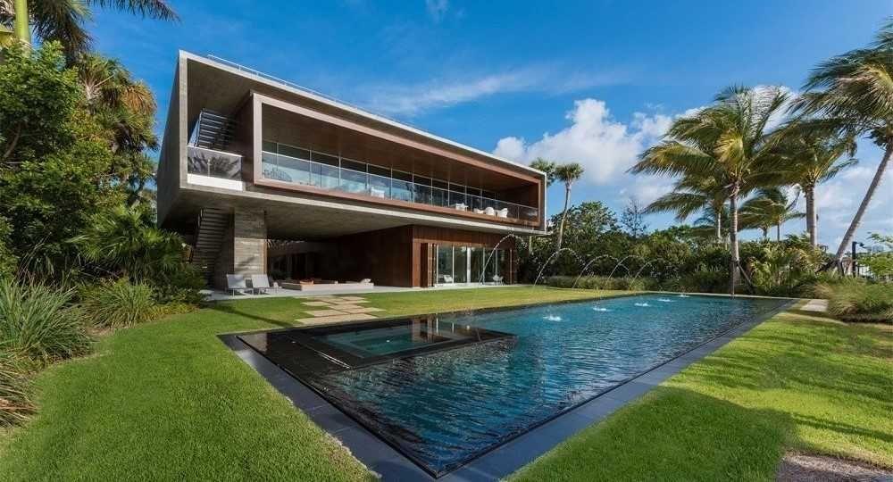 Vivir en el lujo. Casa en Miami Beach de Studio MK27