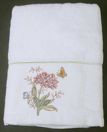 Lenox Butterfly Meadow Bath Towel Con Imagenes Mariposas Vajillas
