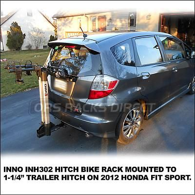 Pictures Of Hitch Mounted Bike Racks Inno Inh301 Inh302 Hitch Bike Rack Html Inno Hitch Bike Rack For 2012 Honda Fit Sport Honda Fit Hitch Bike Rack