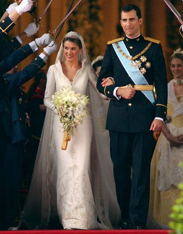 Prince Felipe Of Spain And Princess Letiza Tied The Knot Complete With Sword Salute