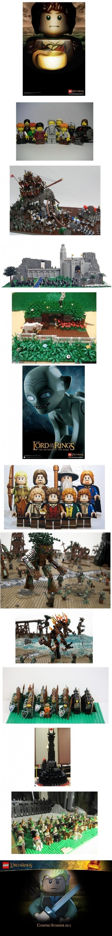 Lego Lord of the Rings  #lego #lordoftherings #movie #legomovie