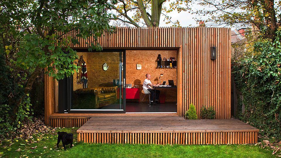 One possible configuration of Ecospaces modular garden studios I
