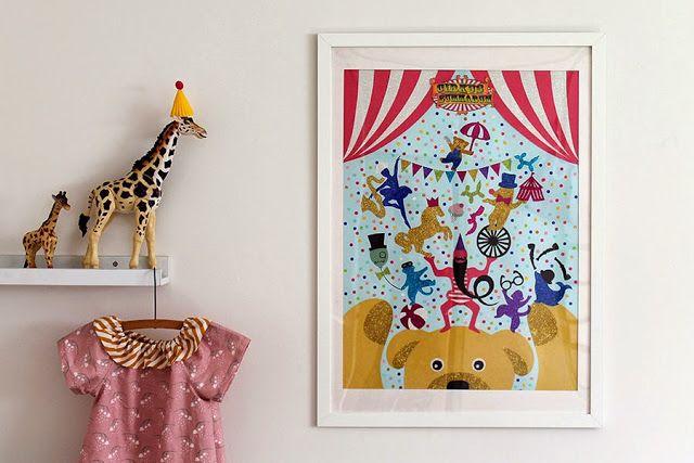 Lav din egen Cirkus Plakat - Skabeloner