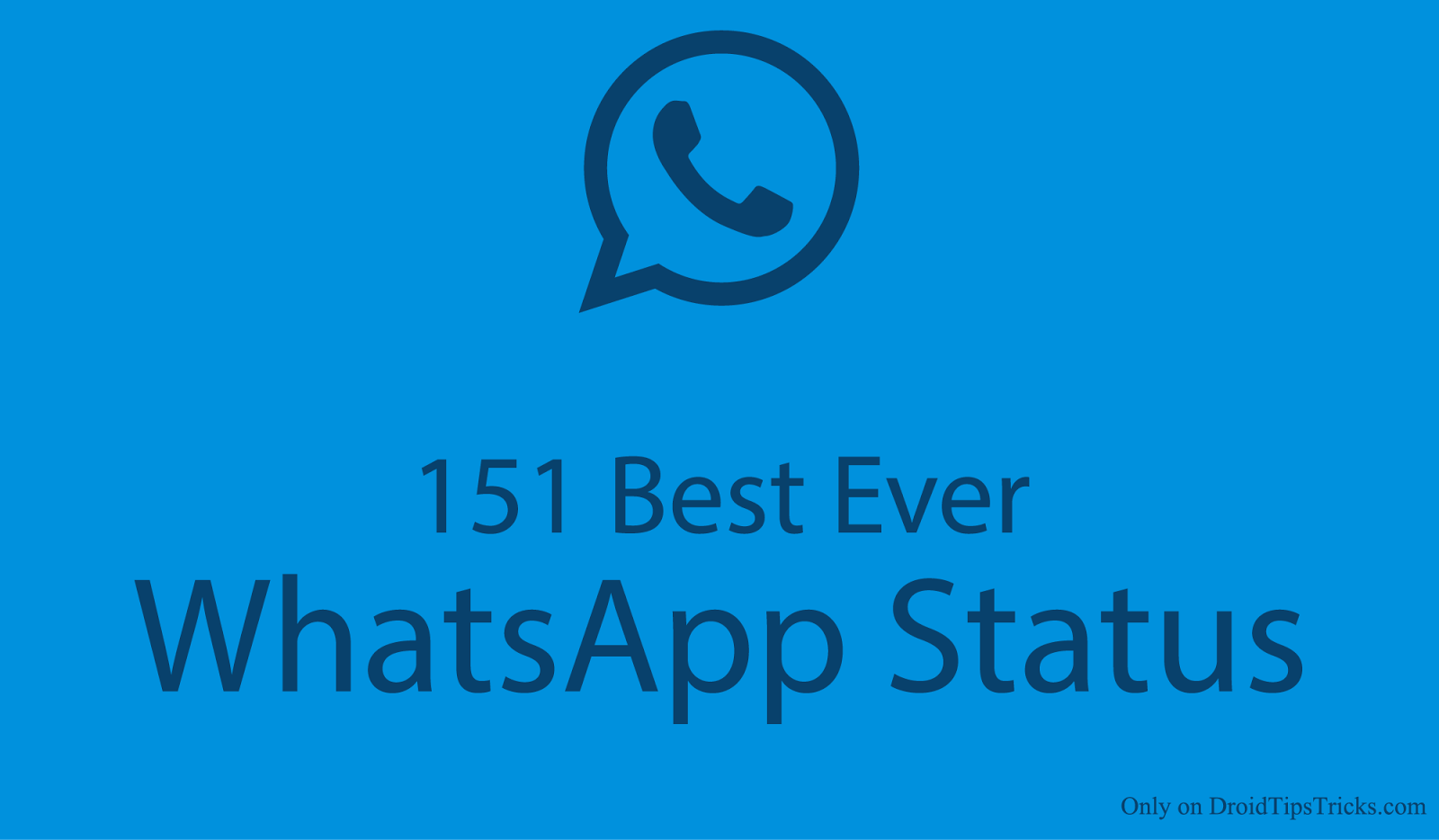 These are 200 best ever Whatsapp Status also they are