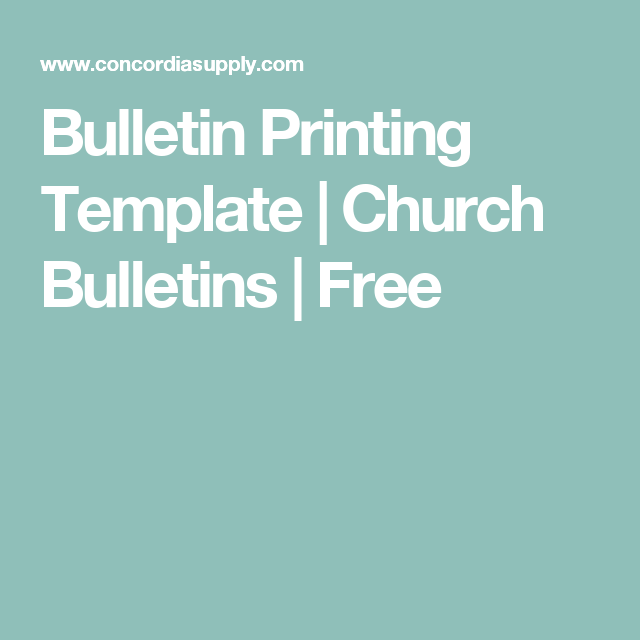 Bulletin printing template church bulletins free church bulletin printing template church bulletins free pronofoot35fo Image collections