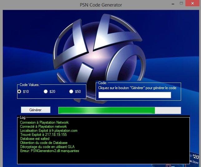 pin by generateur de on generateur de code psn