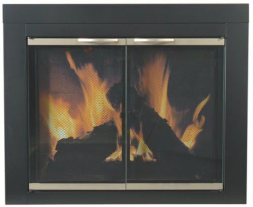 Alsip Medium Cabinet Style Fireplace Door At Menards