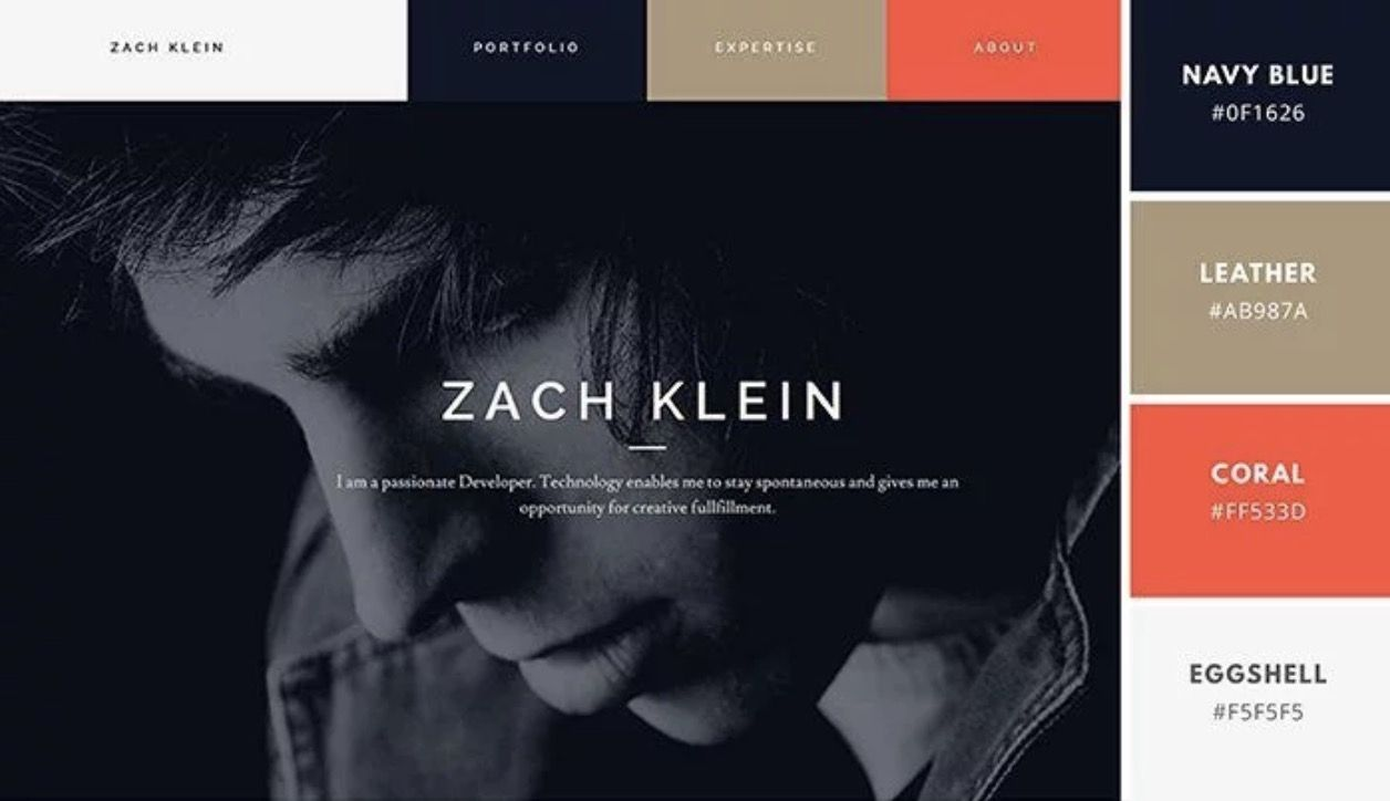 Luxury Color Palettes For Website Design 11 Best Examples With
