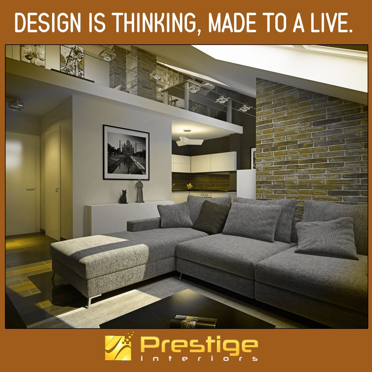 Design Is Thinking, Made To A Live. #Prestige Interiors Hyderabad Http:/