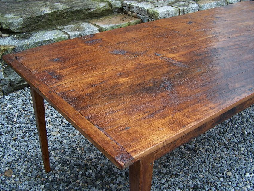 antique pine kitchen table for sale