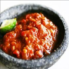 Share With Love Resepi Sambal Ayam Penyet Yang Simple Sambal Spicy Recipes Indonesian Food