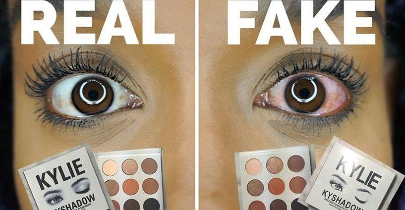 Counterfeit Makeup Is Really Real And Really Scary Fake