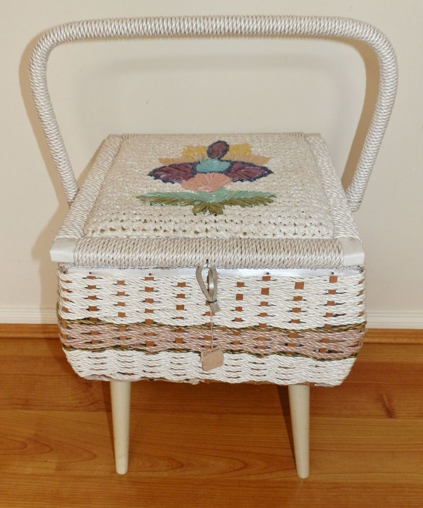 Old Sewing Basket with Legs | 1000x1000.jpg