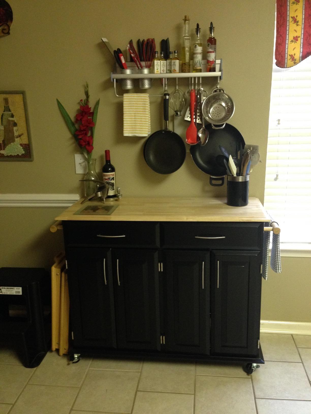 Amazon.com: Kitchen Wall Pot Pan Rack, Plumeet 5 In 1 Wall Mounted Hanging  Kitchen Organizer With 10 Pot Hook U0026 4 Knife Holder U0026 2 Utensil Cup U0026 Spice  Rack ...