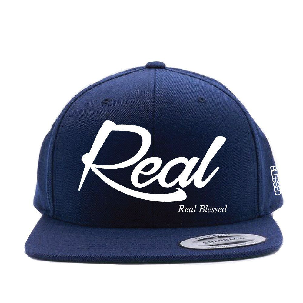 REAL Blessed Snapback Hat  bf1b173de105