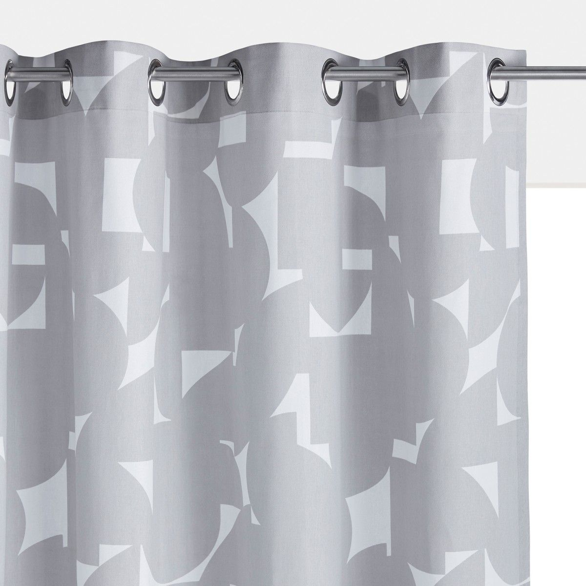 Aron cotton curtain with eyelets