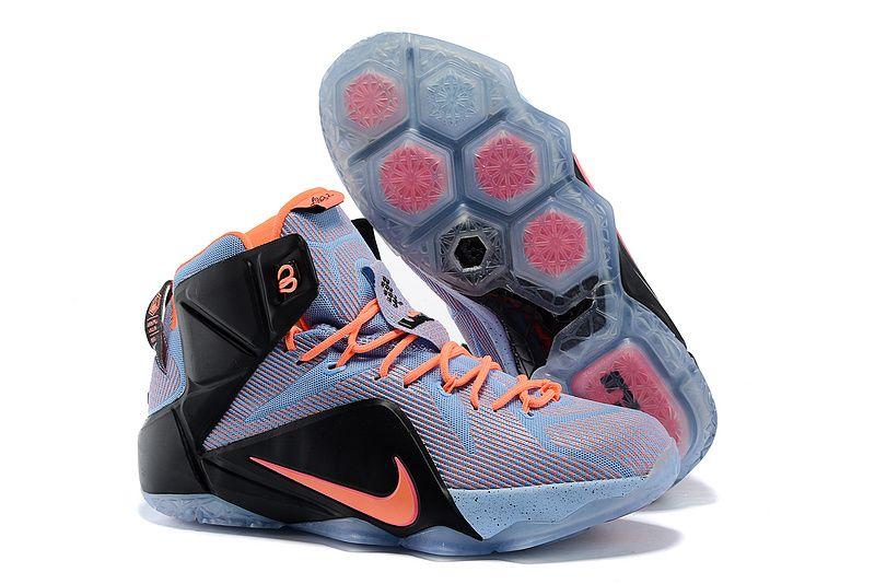 Nike Lebron 12 Easter Orange Black Blue, cheap Lebron 12 Mens, If you want  to look Nike Lebron 12 Easter Orange Black Blue, you can view the Lebron 12  Mens ...