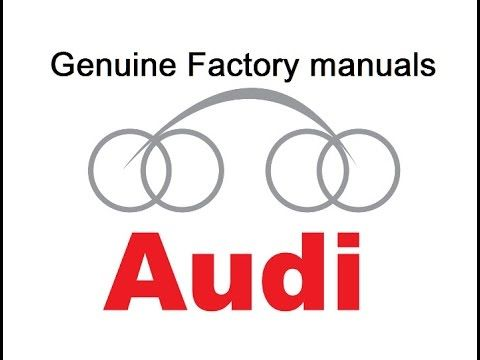 audi allroad quattro 2001 service and repair manual ebook