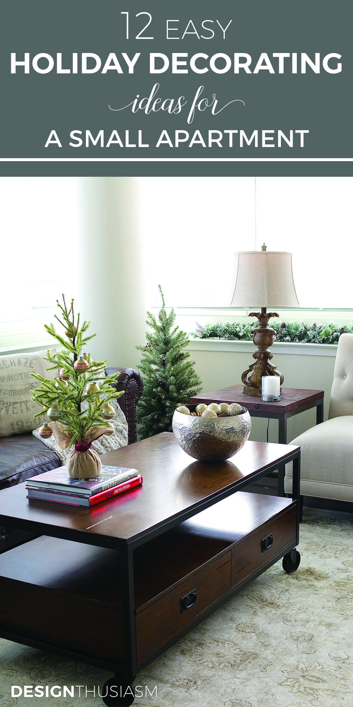 12 Easy Holiday Decorating Ideas For A Small Apartment