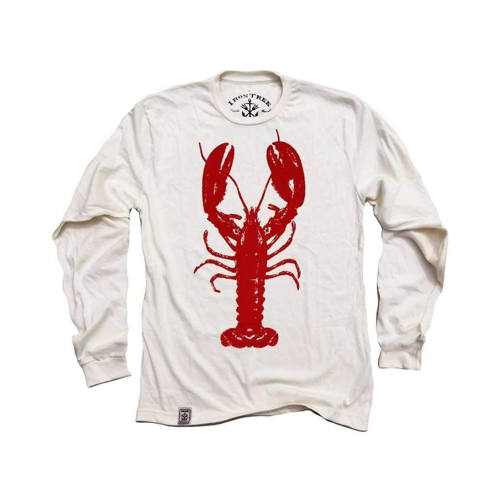 Red Lobster Organic Fine Jersey Long Sleeve TShirt in