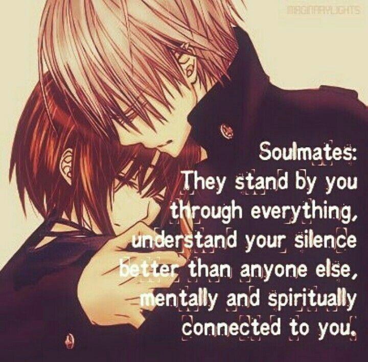 Soulmates Anime Quote Soulmates Anime Love Quotes Vampire Knight Yuki Vampire Knight