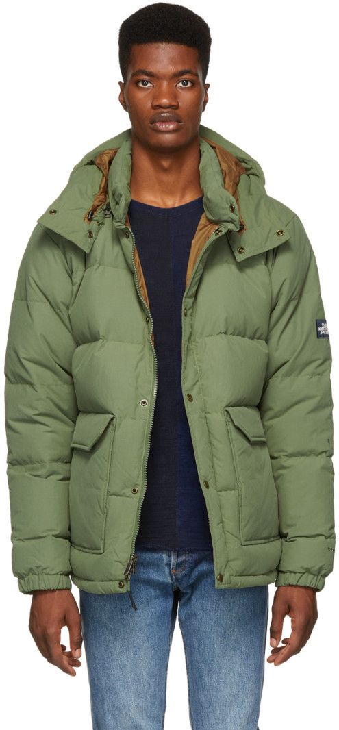 The North Face - Green Down Sierra 2.0 Jacket  6d1317c8a