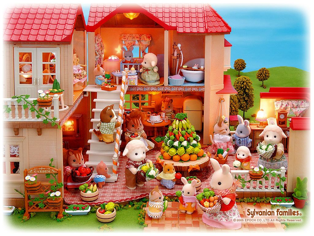sylvanian families - Google Search | お家 | Pinterest | Sylvanian families, Dollhouses and Miniatures
