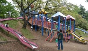 TO DO: Fussa Roller Slide Park - located in walking distance of the supply gate. bring cardboard for your caboose?