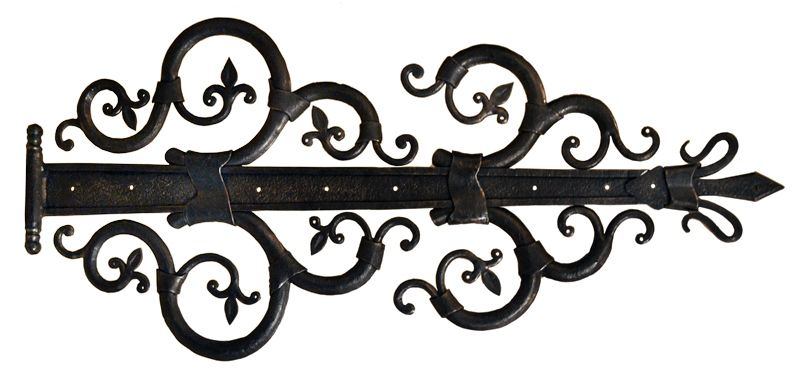 Hinge Authentic Wrought Iron Original Hh2377 Future Hobbit