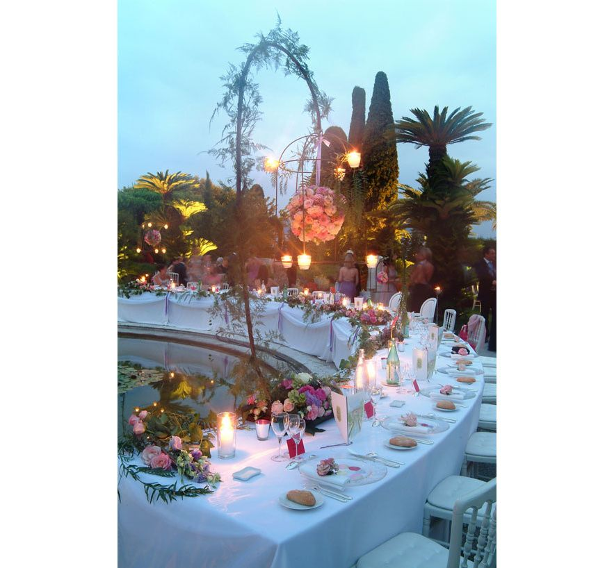 Wedding planner Jean Luc Blais top Parisian tablescapes Parties