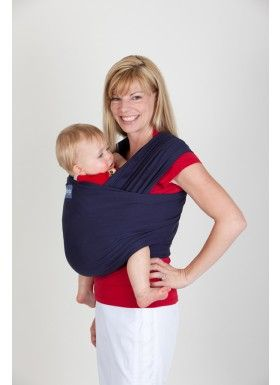 Sleepy Boba Wrap In Navy Blue Virtual Babywearing Stash