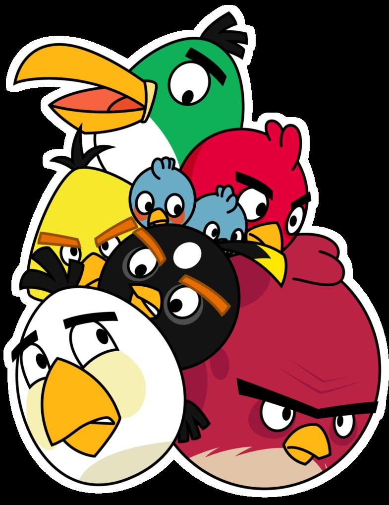 Pila De Angry Birds Angry Birds Characters Angry Birds Bird Wallpaper