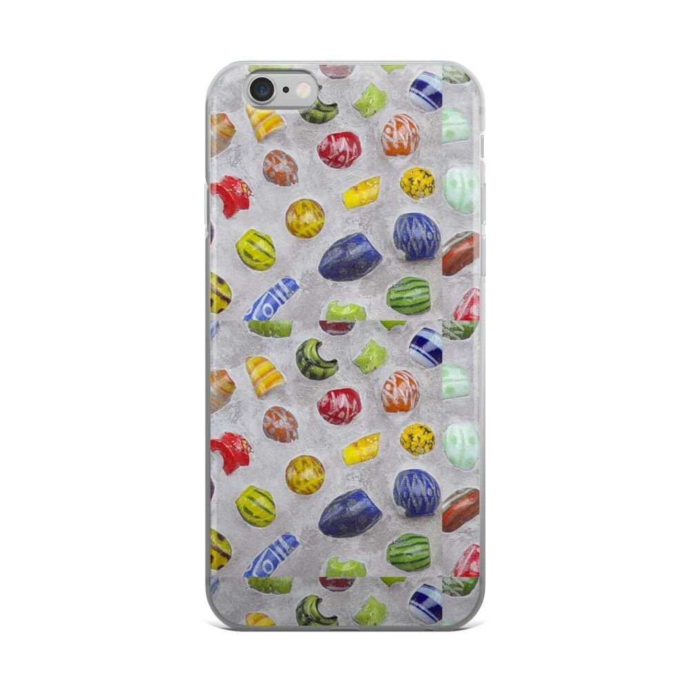 Tiled Fire Beads III iPhone case