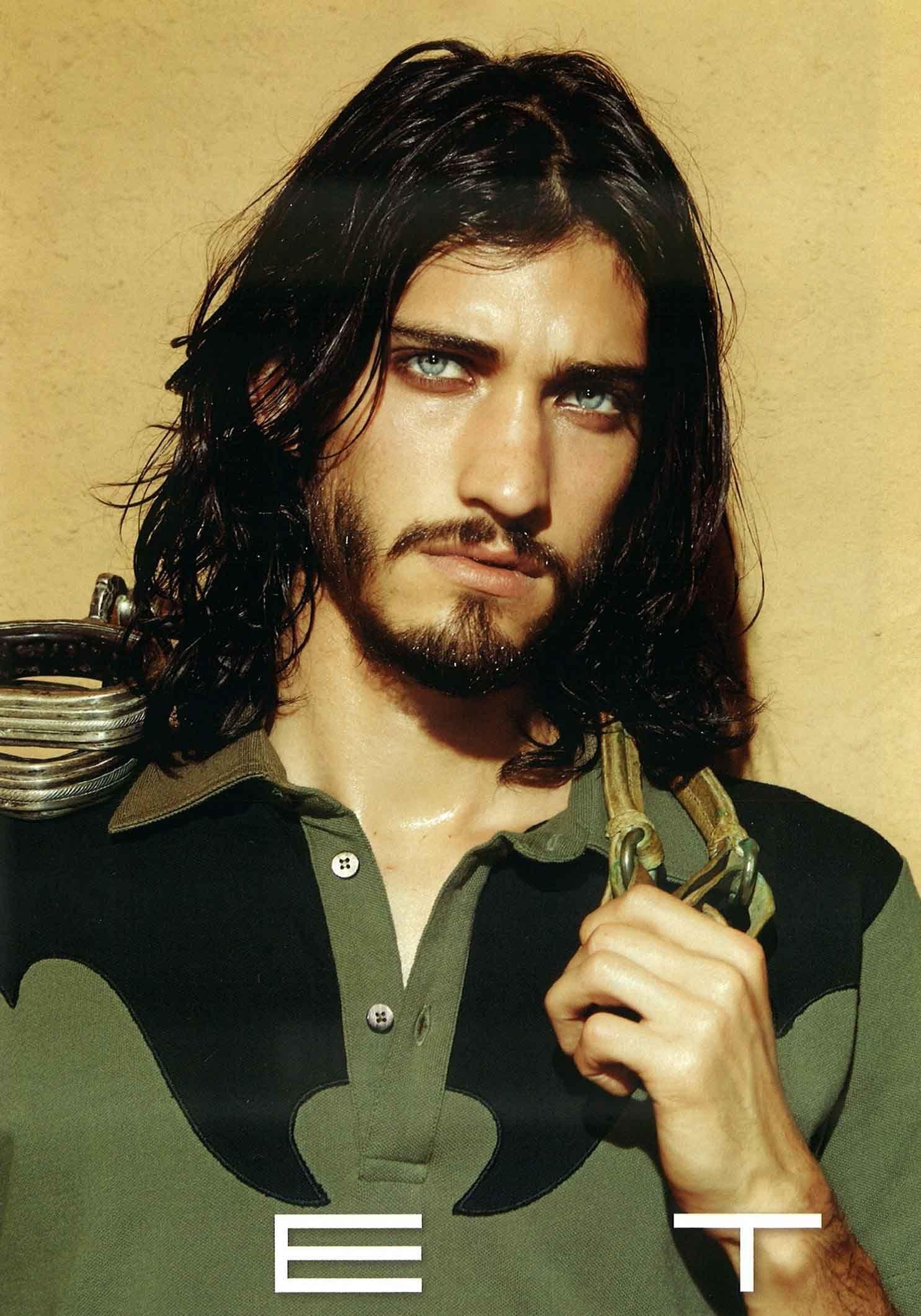 Andres Risso | Bananas Models | Long hair styles men