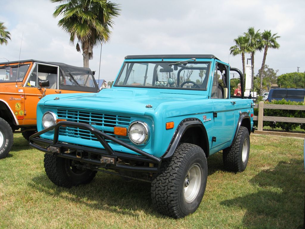 Sports Utility Vehicles Smaller Ford Broncos Ford Bronco