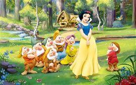 Disney © Schneewittchen 7 Zwerge Prinzessin