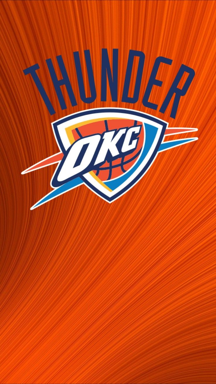 Okc Oklahoma Thunder Wallpaper Iphone Android Oklahoma City Thunder Okc Thunder Basketball Okc Thunder