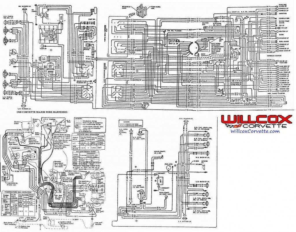 1969 Corvette Windshield Wiper Vacuum Diagram Wiring Corvette Windshield Corvette Restoration