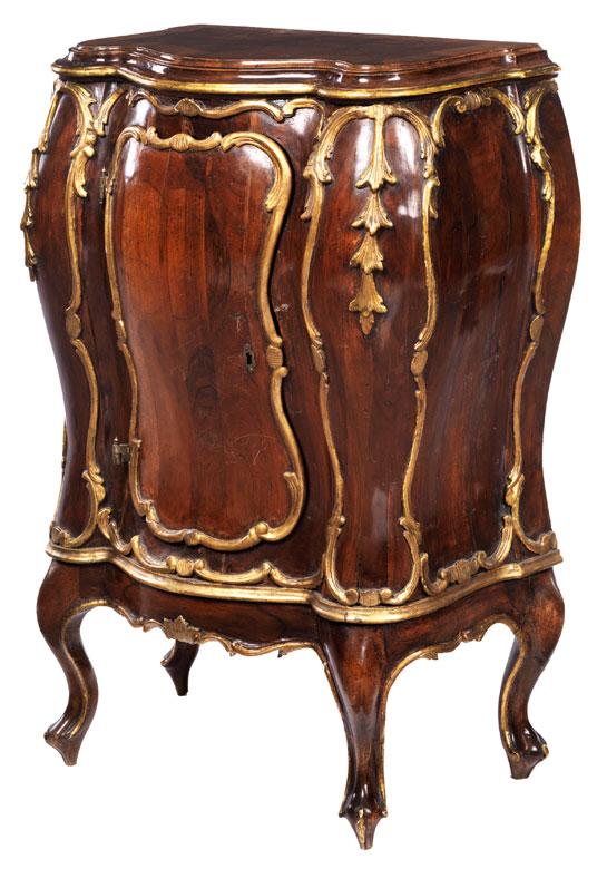 Kleine Rokoko Kommode Neapel 18 Jahrhundert Kommode