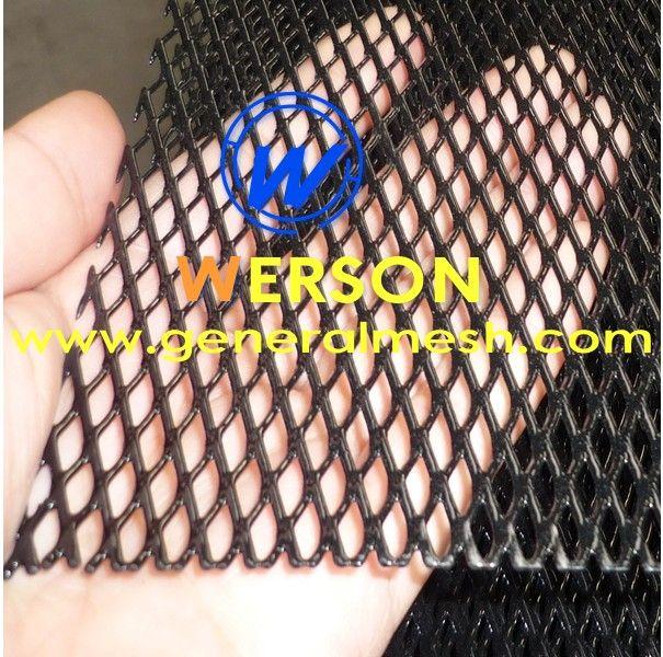 Black Aluminium Racing Grille Net Vent Race Car Tuning 100 x