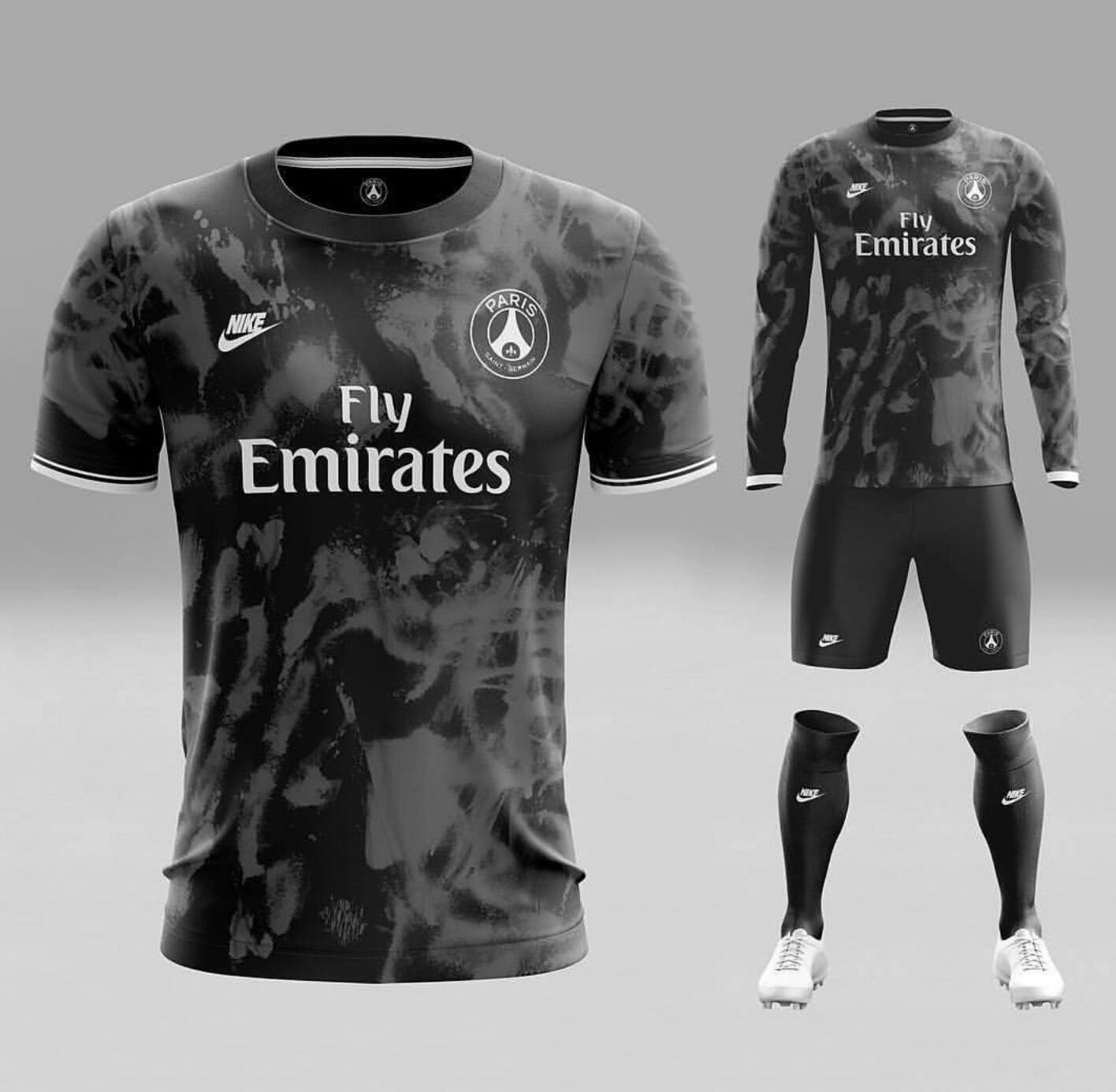 le maillot du psg vu par un graphiste. Black Bedroom Furniture Sets. Home Design Ideas