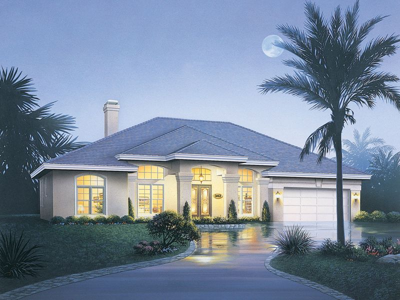 Rose Way Florida Style Home Beautiful House Plans Ranch Style House Plans Florida House Plans
