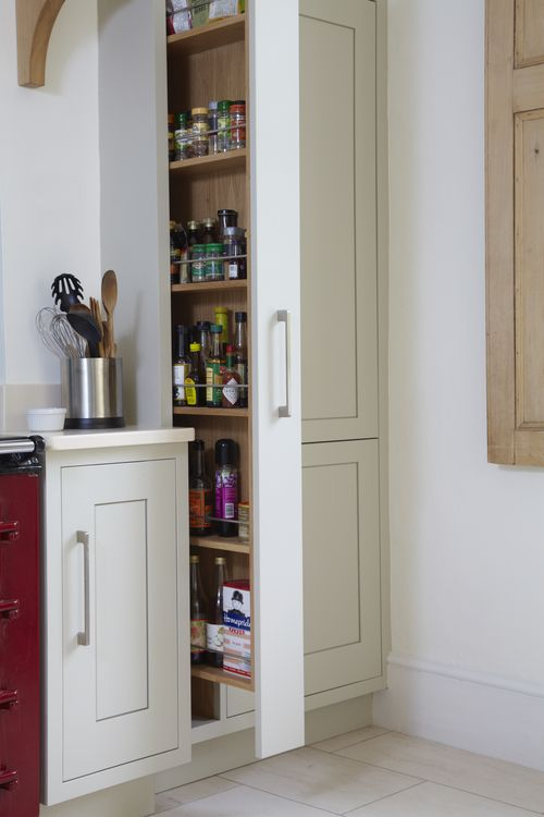 10 Kitchen And Home Decor Items Every 20 Something Needs: Pull-out Narrow Spice Rack / Pantry - Want This