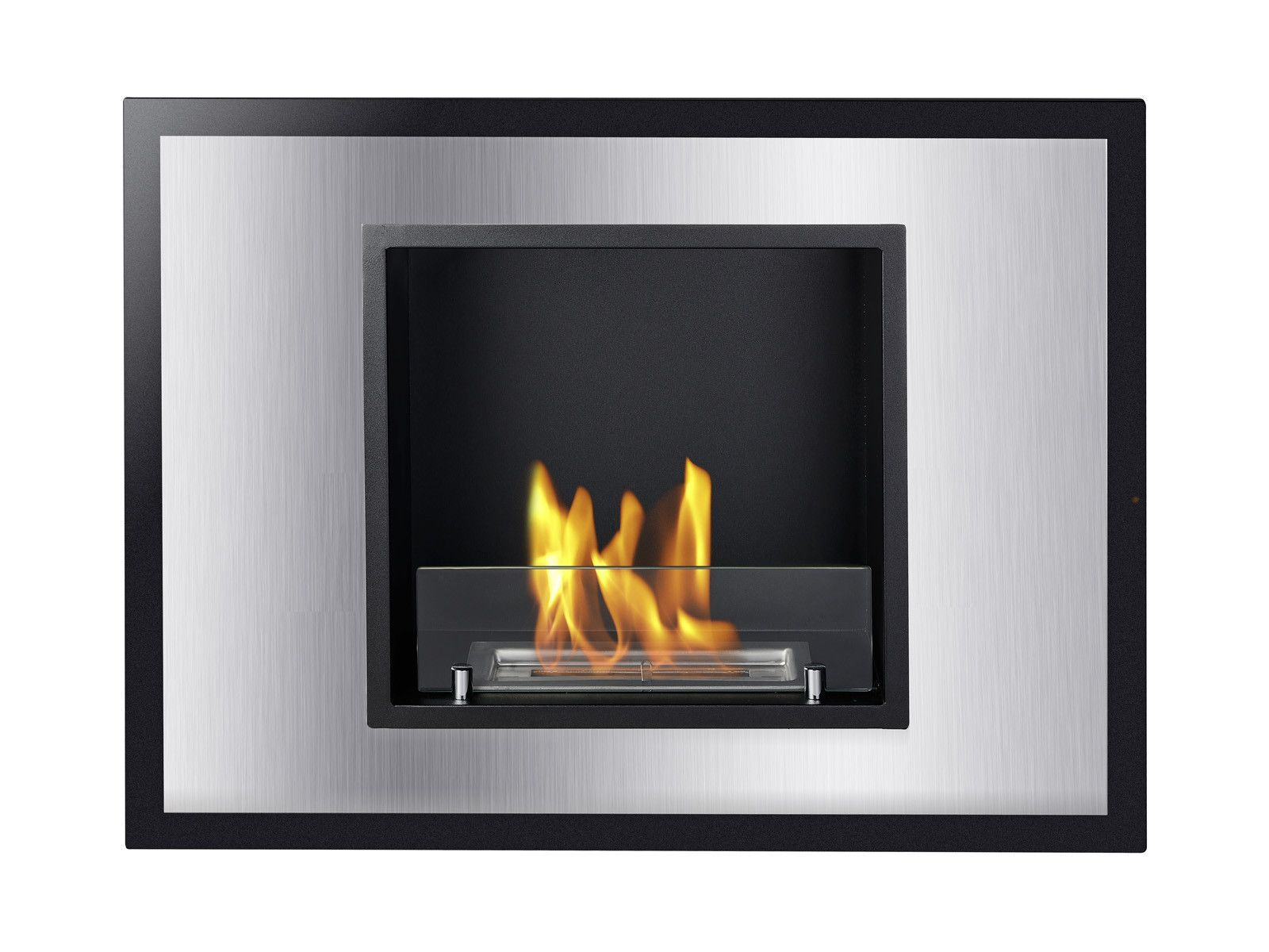 Vienna Recessed Ventless Ethanol Fireplace - UL/CUL