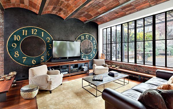 Contemporary Soho Loft. From:   design-dautore.com