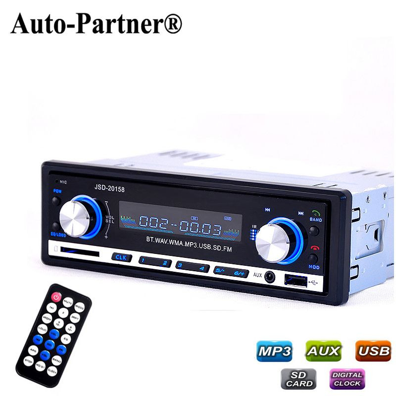 bluetooth v2 0 autoradio jsd 20158. Black Bedroom Furniture Sets. Home Design Ideas