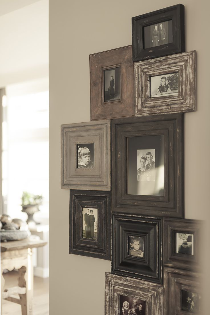 neat idea to put the frames close together | Deco | Pinterest ...